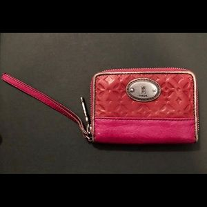 Authentic Fossil Wallet | Wristlet